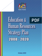 Educational & Human Resource Strategic Plan 2008-2020