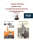 Histoire - Bulletin Paroissiaux Roscoff