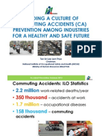 Building a Culture of Commuting Acidents (CA) Prevention Among Industries for a Healthy and Safe Future