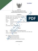 Putusan Ajudikasi Agus Yahya vs Diskominfo Pasuruan 15 Maret 12