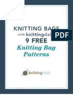 9 Free Knitted Bag Patterns
