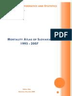 Mortality atlas of Slovakia 1993-2007