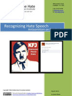 Recognizing Hate Speech