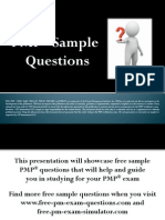 PMP Sample Questions Set 3