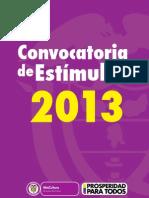 Convocatoria de Estímulos 2013.pdf