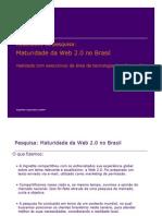 Vignette - Pesquisa_Maturidade Da Web 2.0_Resultados TI5