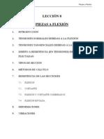 Estructuras Metalicas Tema 08.Piezas a Flexion