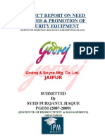 Project Report on Godrej & Boyce Mfg.Co.Ltd by Furqan