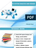 System Analysis and Design Ppt