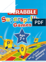 Junior Scrabble Superspelling Games Age 7+