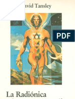 La radiónica y la anatomía sutil del hombre. D. Tansley