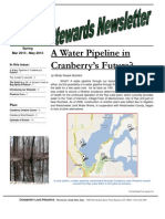 Cranberry Newsletter Spring 2013