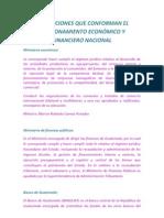 Instituciones de Funcion Economica y Financiera