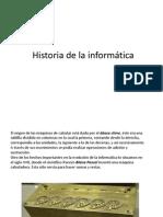 Historia de la informática