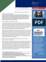 Quadrics TG201 10 GigE Switch Case Study - GreenLight