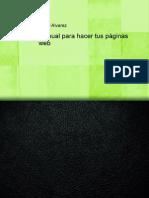 Manual Para Hacer Tus Paginas Web