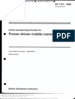 BS1757 Power-Driven Mobile Cranes