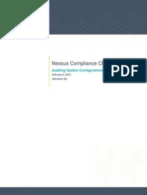 Nessus Compliance Checks   Sudo   Superuser