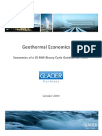 Geothermal Economics 101 - Glacier Partners
