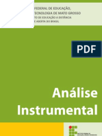 Apostila Análise Instrumental - Eucarlos -  UAB