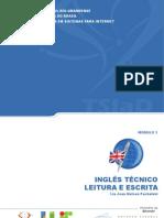Ingles Tecnico Leitura e Escrita