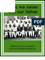 Tales We Never Told Our Father - Reflections on sexuality, culture and being Nigerian