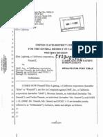 Elite Lighting v. Dmf et. al.