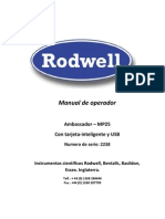 Manual de Operador MP25