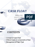 Cash Float