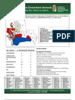 Semana Epidemiológica 8/2013, del sistema de vigilancia de Sanidad Animal; Santa Cruz, Bolivia