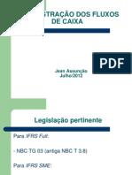 DEMONSTRÇÃO DOS FLUXOS DE CAIXA
