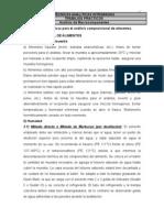 ANÁLISIS DE MACROCOMPONENTES EN ALIMENTOS