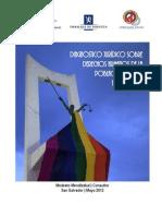 Diagnostico juridico sobre los derechos de la población LGBTI de El Salvador (Mayo 2012)