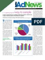 Med Ad News Cegedim Sampling Article July 2012
