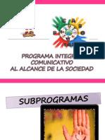 Sub Programas Picaso