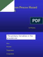 Pertroleum Process Hazard Control