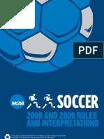 Soccer Rules NCAA