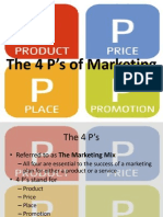1a. The 4 P's of Marketing