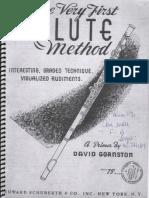 The Very First FLUTE Method - David Gornston