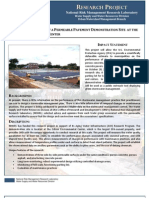 Design/Construction of a Permeable Pavement Demonstration Site at the Edison Environmental Center