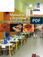 Manual de Salud y Seg Para Direct Escolares-Argentina