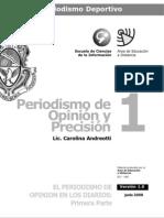 Periodismo de Opinion y Precision - Modulo 1