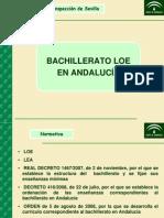 Bachillerato Decreto Andalucia