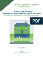 Vapor Intrusion Pathway Investigative Approaches for Typical Scenarios