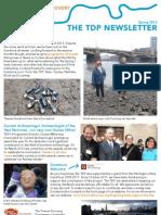 TDP Newsletter Spring 2013
