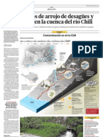 Hay 78 puntos de arrojo de desagües y 12 botaderos en la cuenca del río Chili
