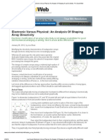 Live Sound_ Electronic Versus Physical_ an Analysis of Shaping Array Directivity - Pro Sound Web
