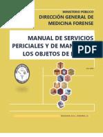 Manual de Servicios Periciales