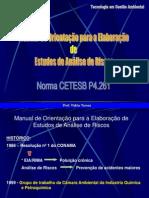 ANÁLISE AVALIAÇÃO GERENCIAMENTO RISCOS - C Torres 1