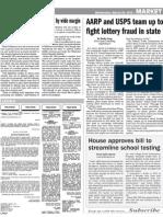 AARP Lottery Fraud Collinsville Print